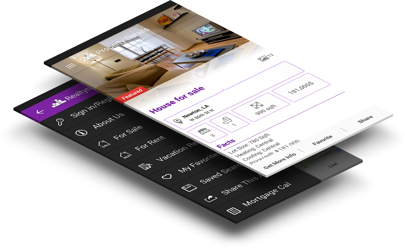 Realtyna Mobile App
