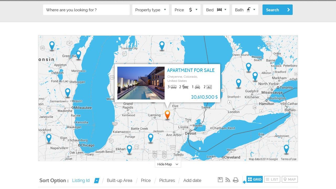 Theme28 + Map Info Window