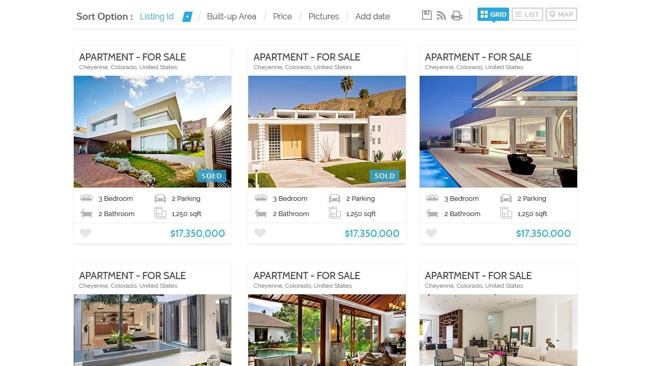 Theme28 + Property Listing
