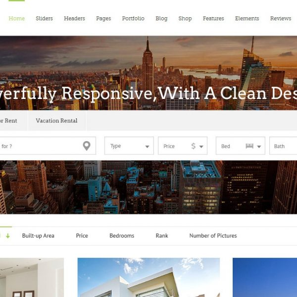 Avada + Realtyna Property Search