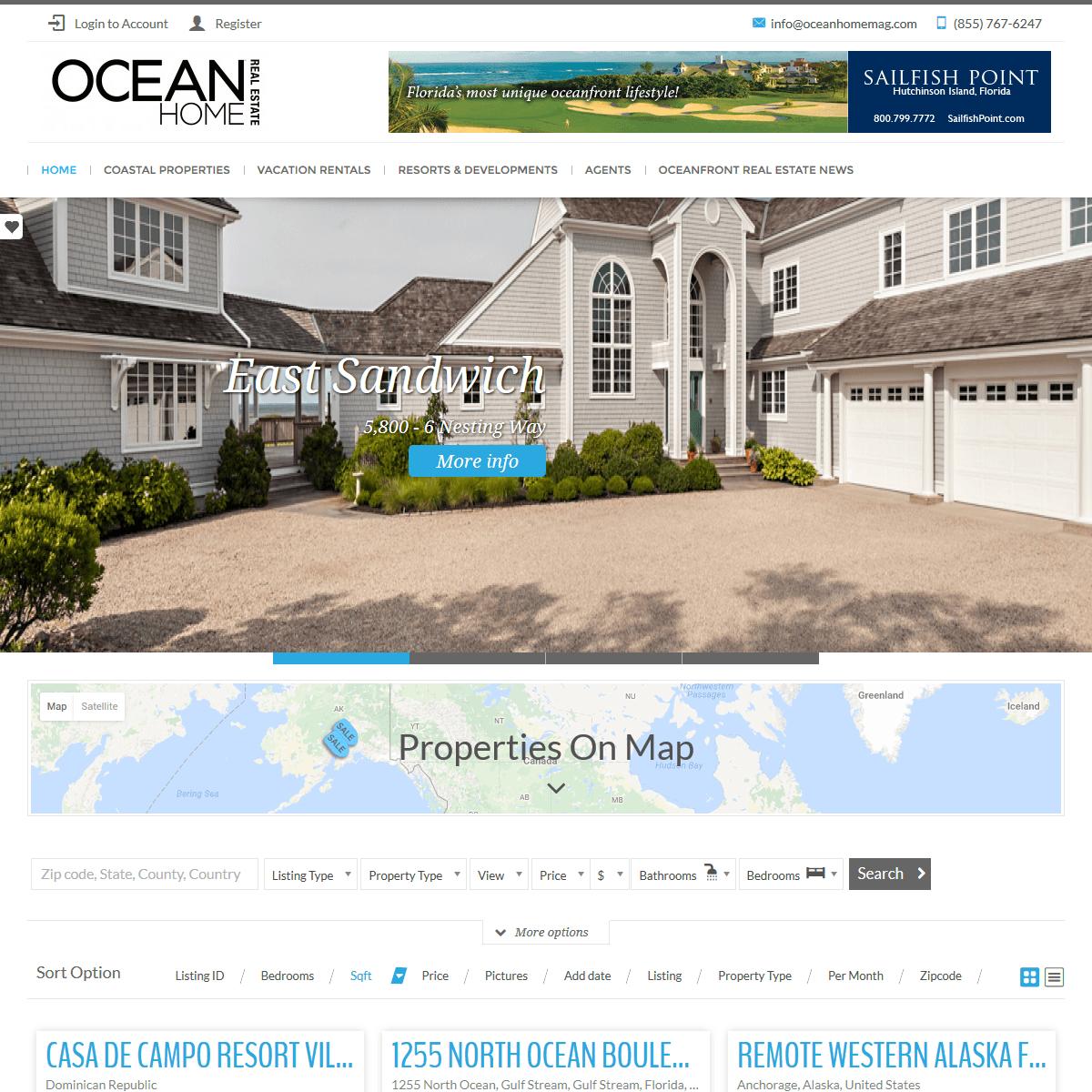 oceanhomemag.com