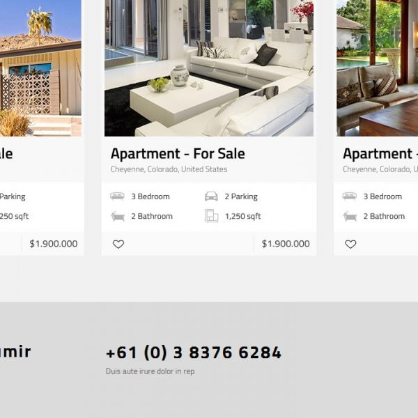 Be Theme + Realtyna Property Listing