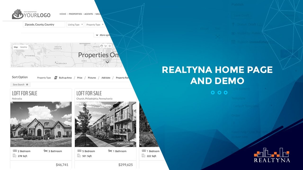 Realtyna Products and Demo