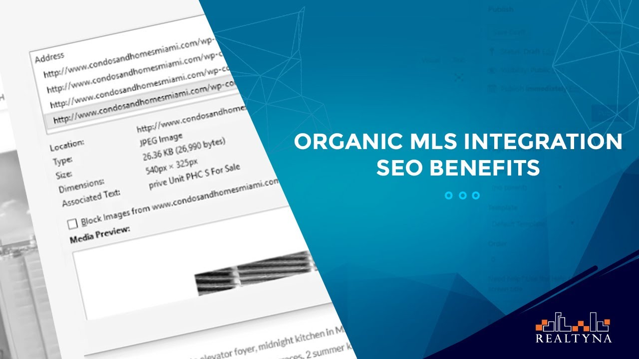 Organic MLS Integration SEO Benefits
