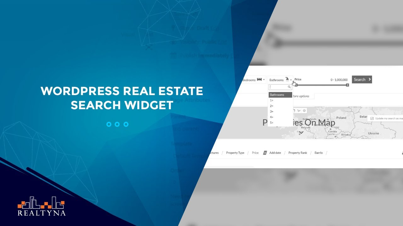 real estate search widget