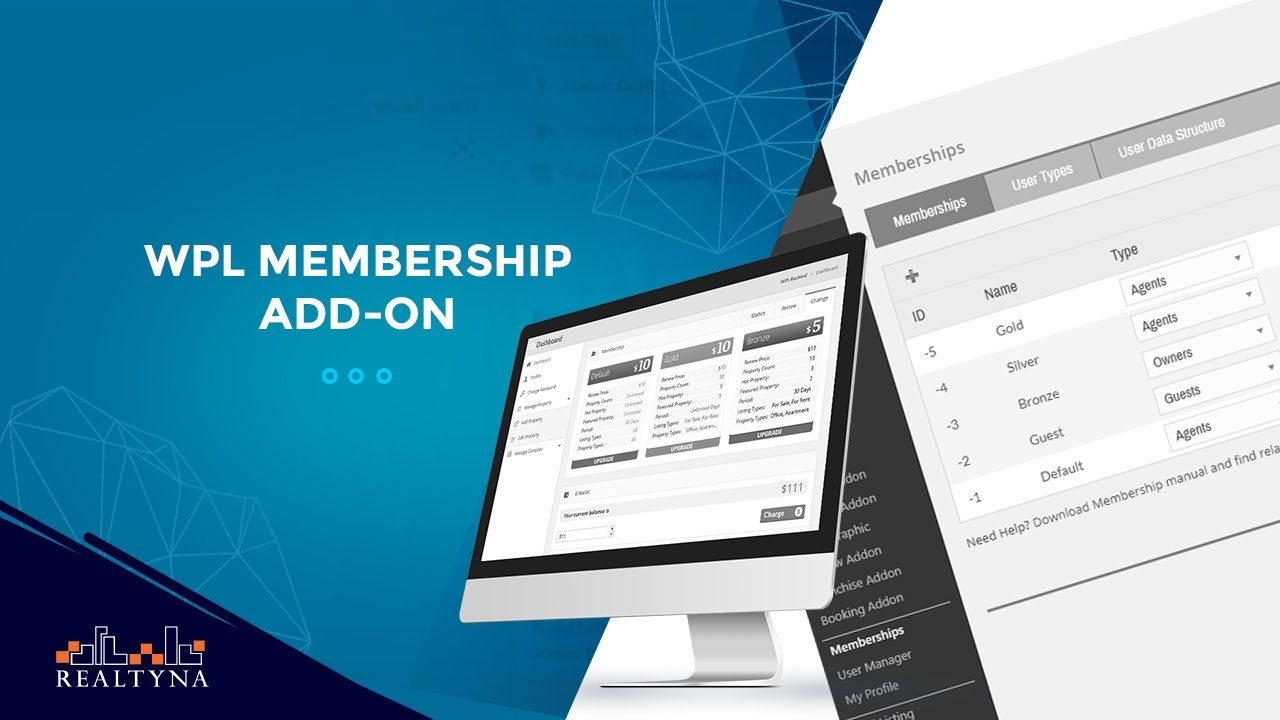 WPL Membership Add-on