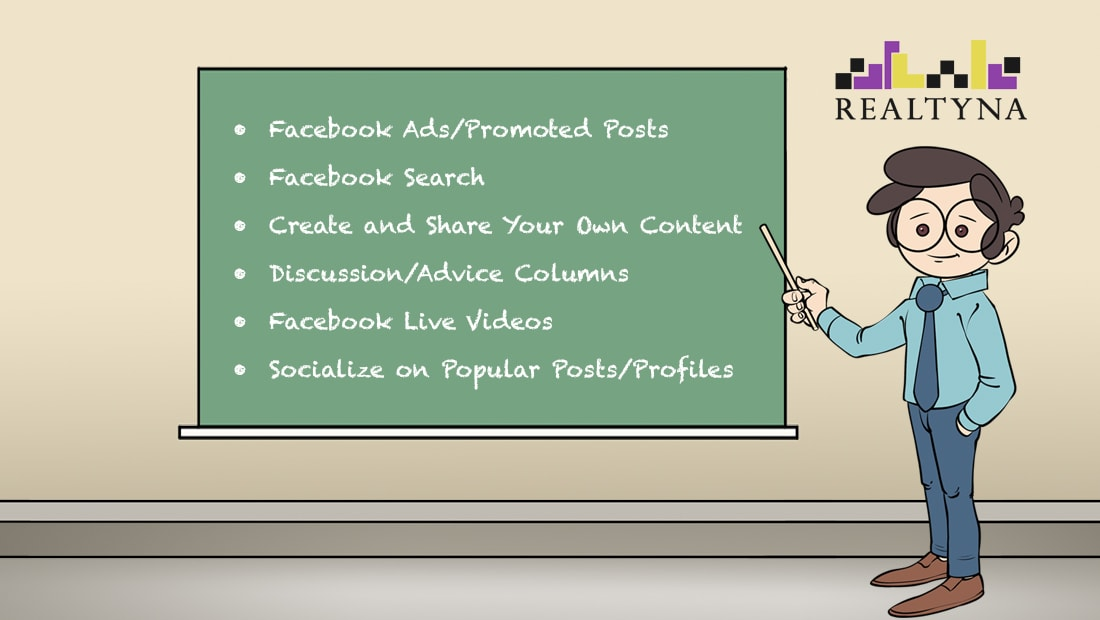 6 Ways to Generate Real Estate Leads on Facebook