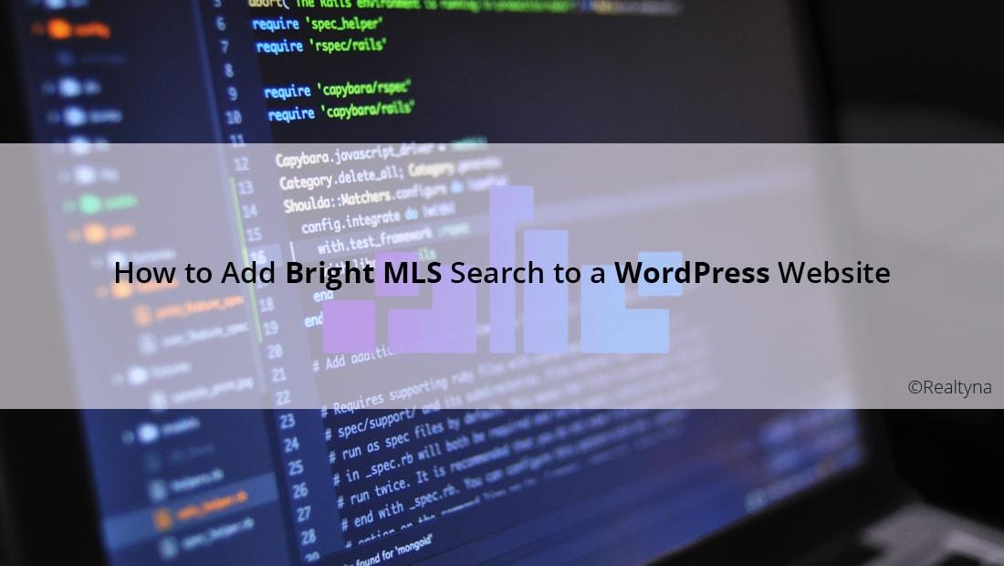 Bright MLS Search