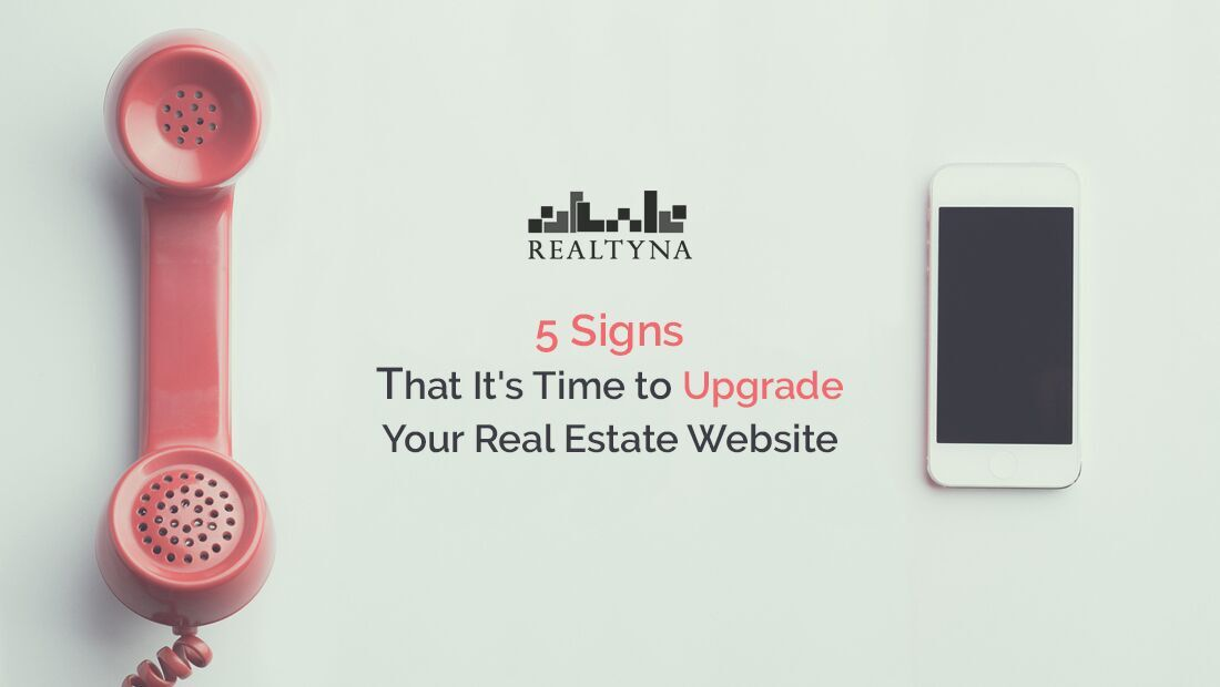 upgrade real estate website