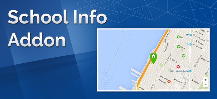 School Info Add-on