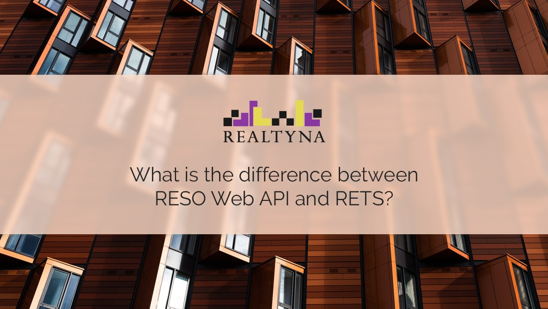 reso web api and rets