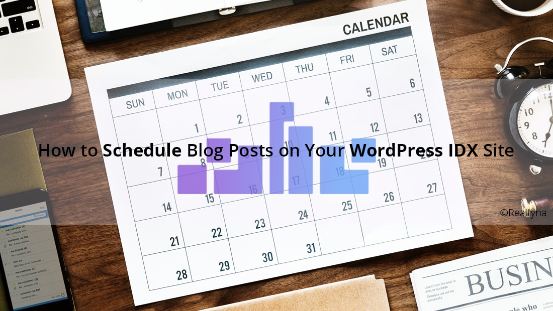 schedule blogs