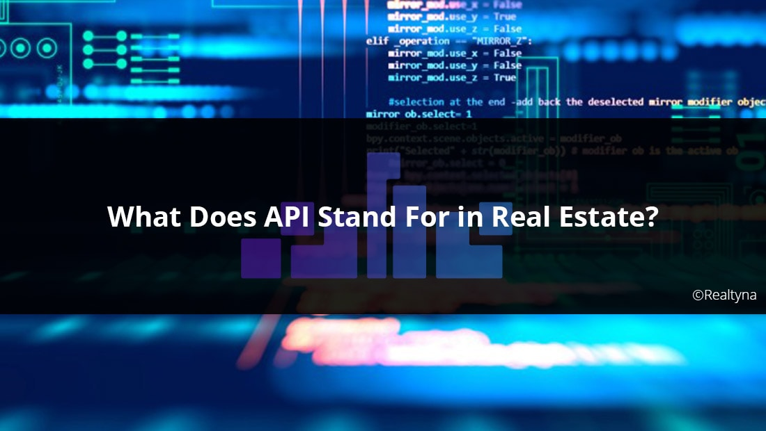 api real estate