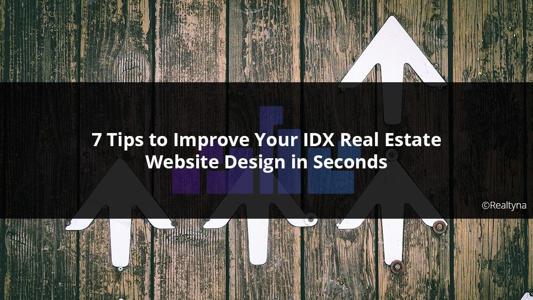 IDX real estate website