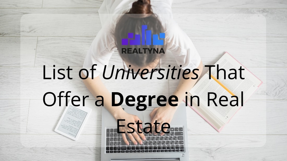 real estate degree