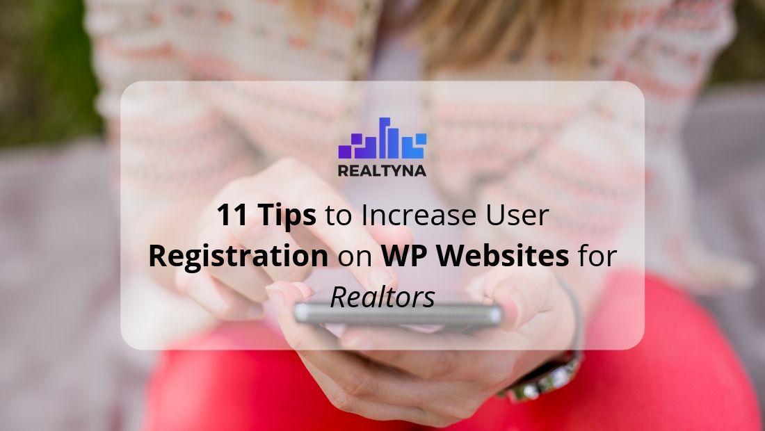 user registration tips