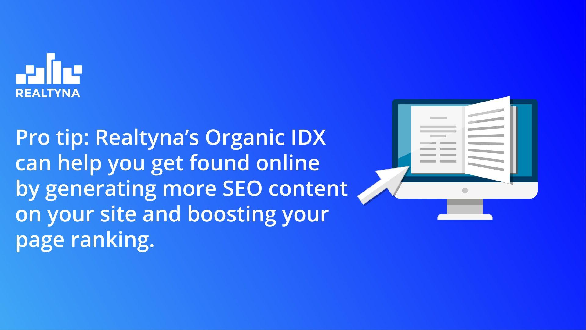 organic idx