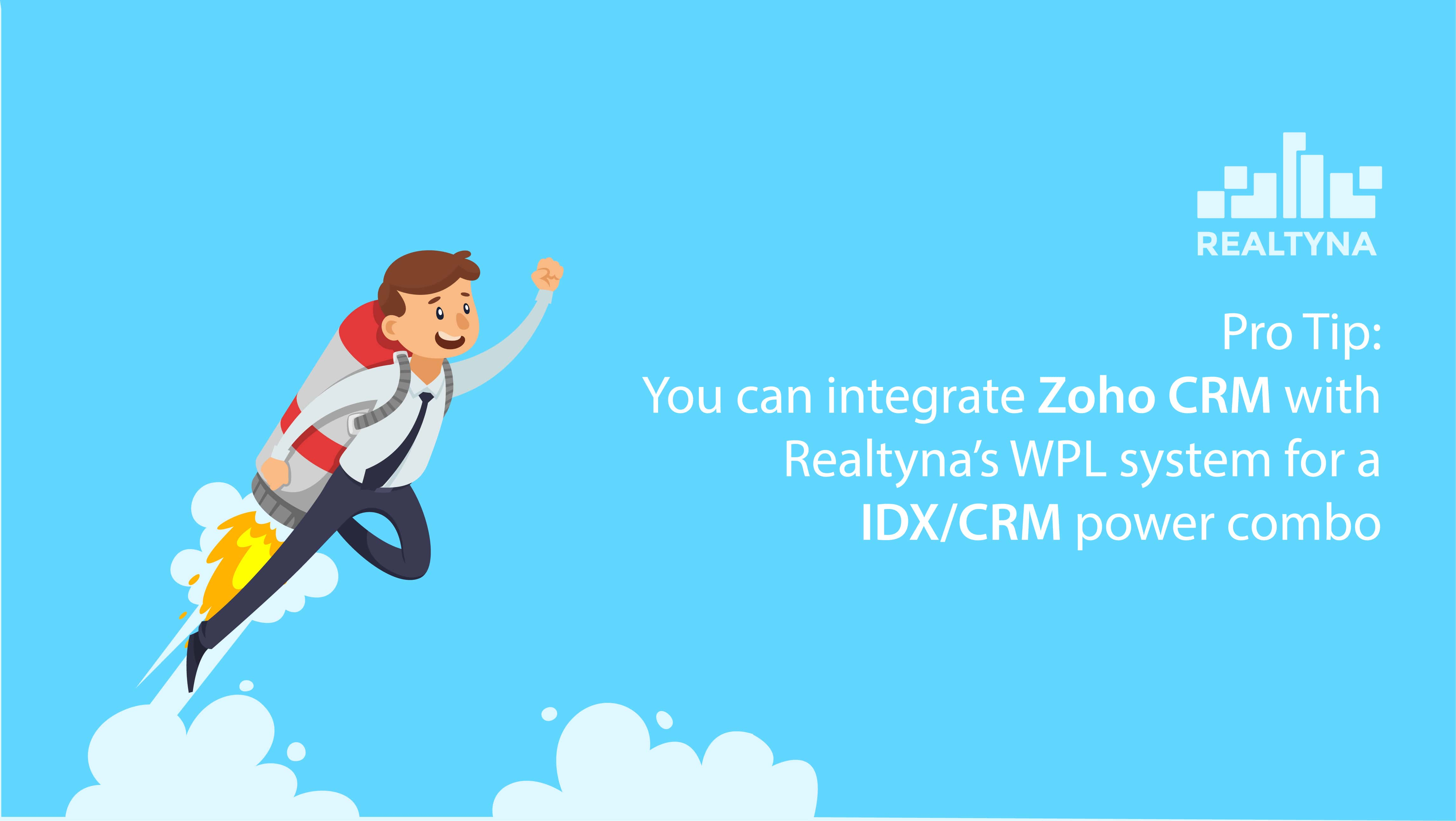 zoho crm real estate
