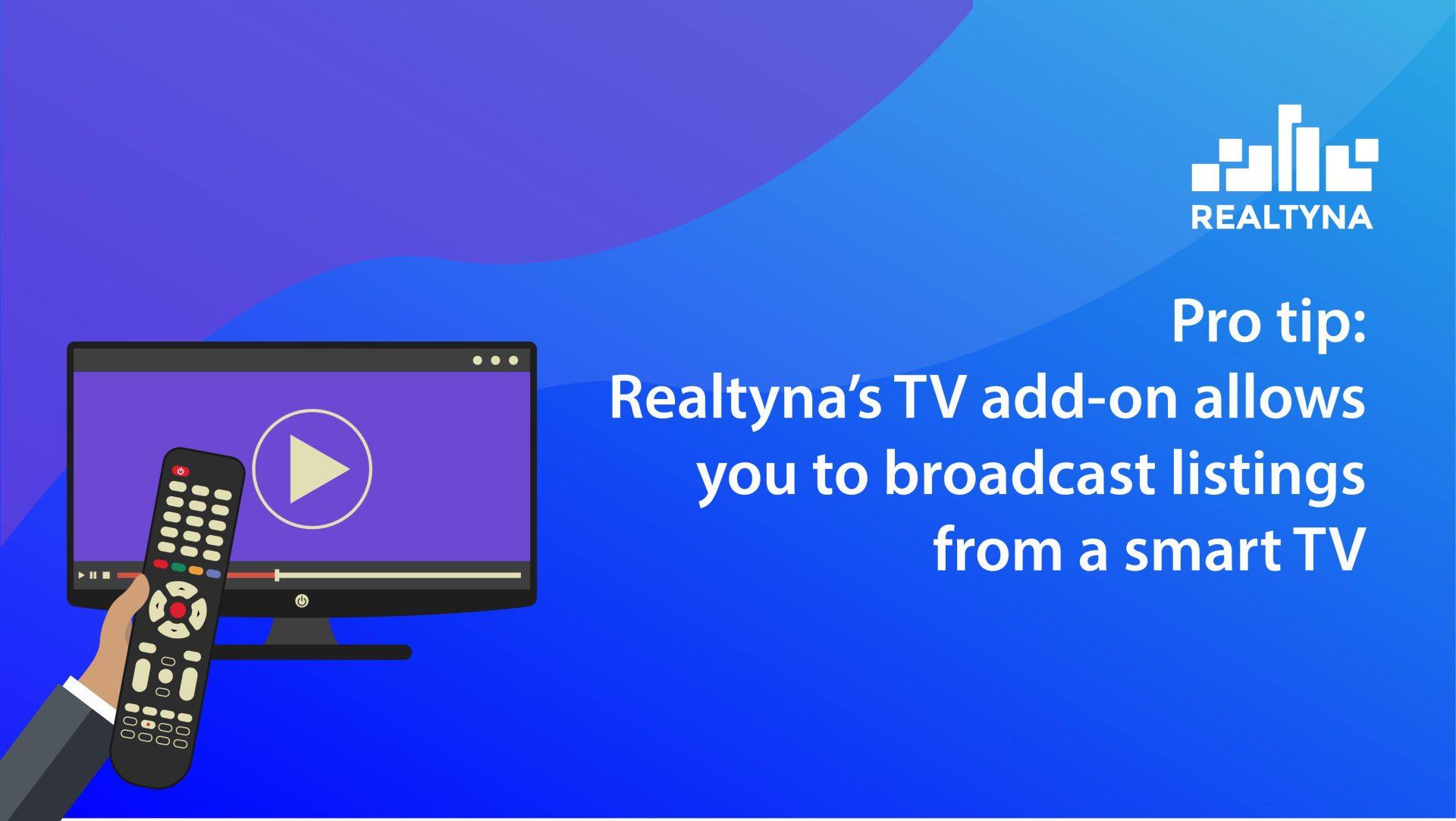 tv application