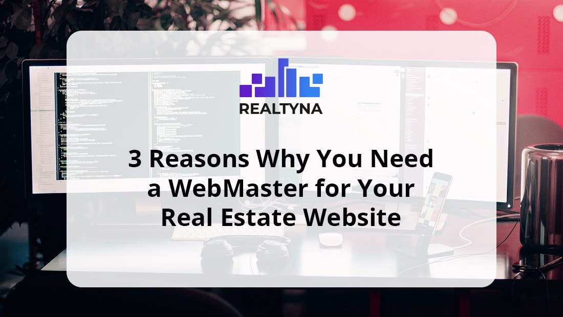 webmaster real estate