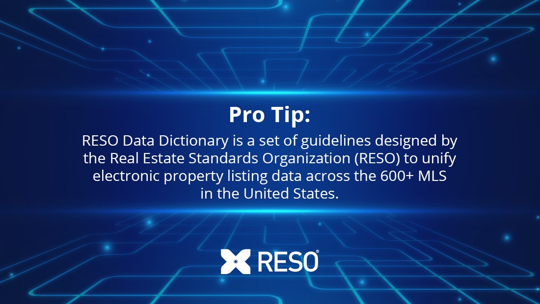 RESO Data Dictionary