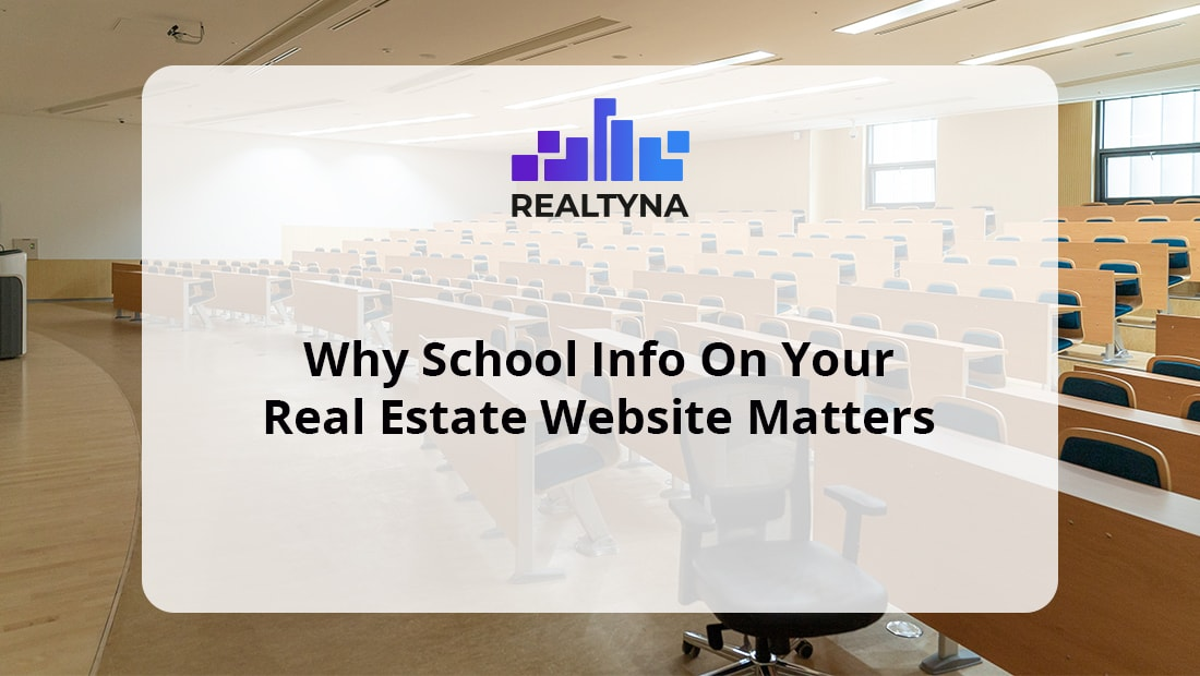 School Info on Your Real Estate Website