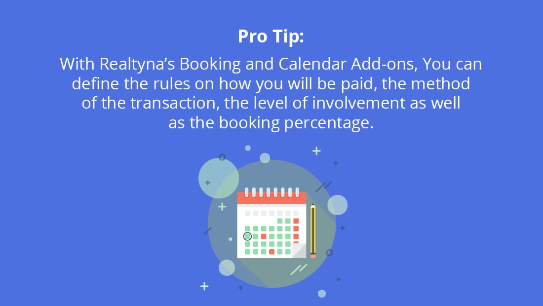 Booking and Calendar Ads-On