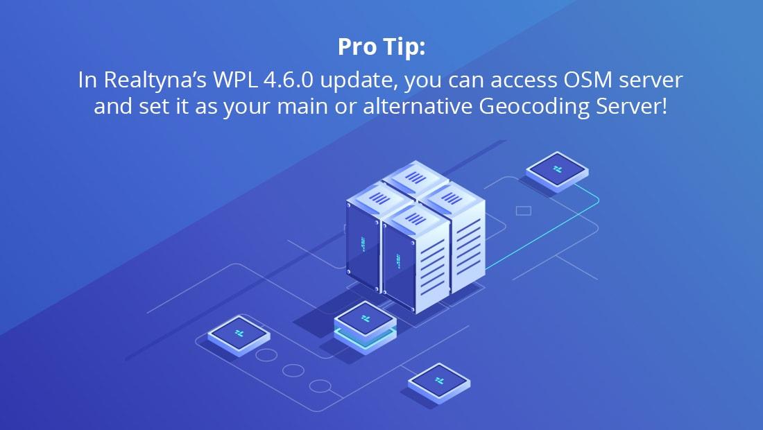 Wpl 4.6.0. Ipdate-OSM Server