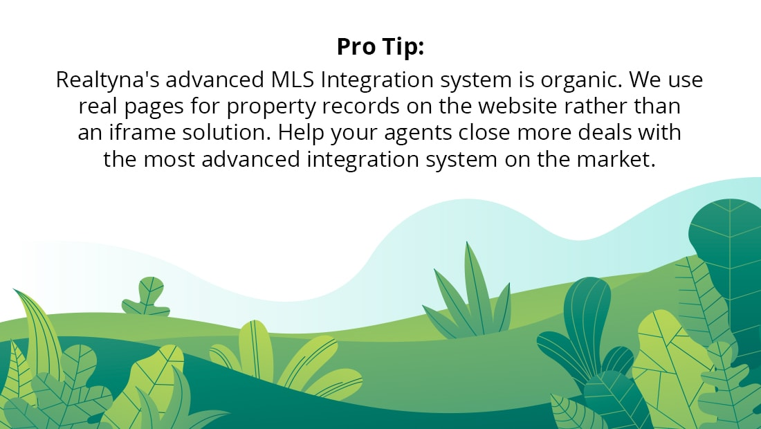 Realtyna's advanced MLS Integration system