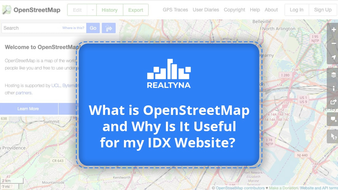 What is OpenStreetMAp