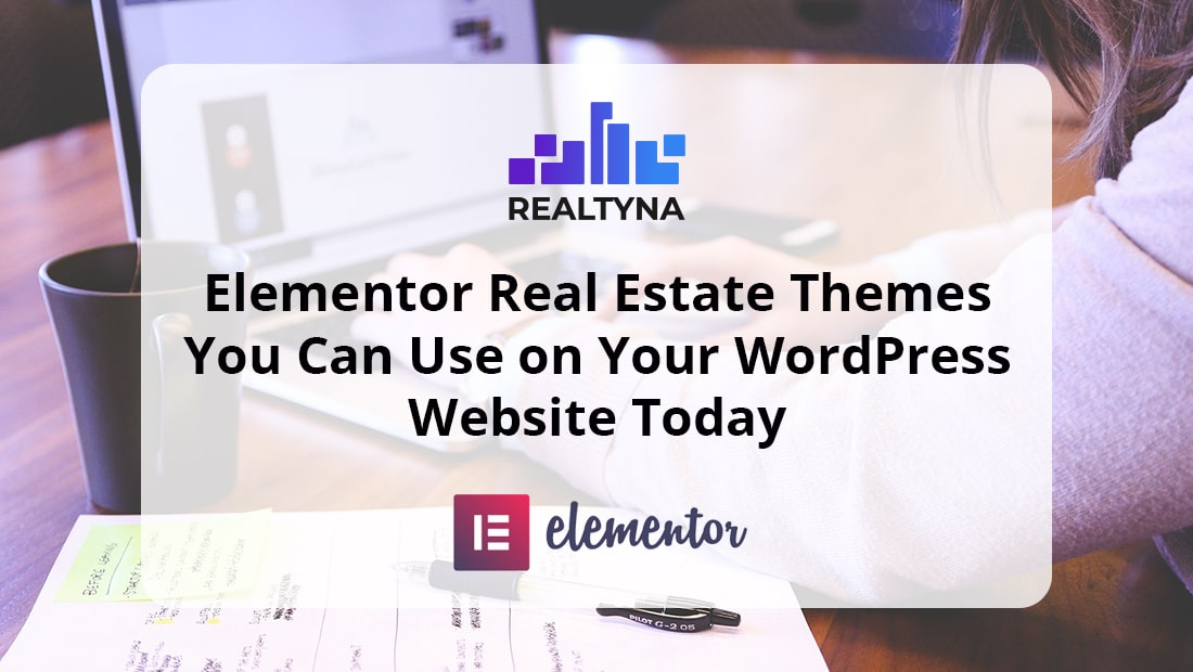 Elementor Real Estate Themes for Wordpress Website