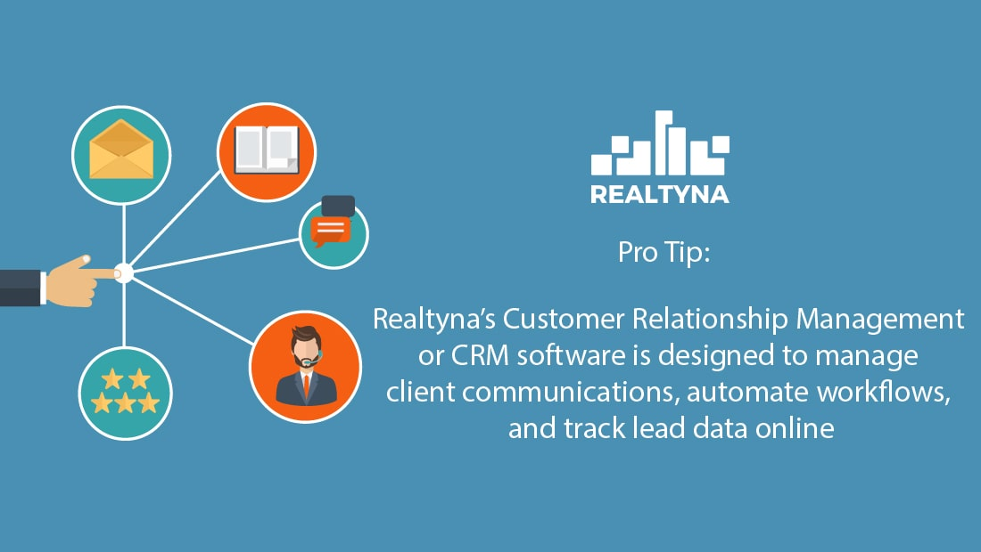 Realtyna's Customer Relationship Management