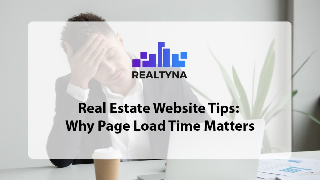 real estate website tips