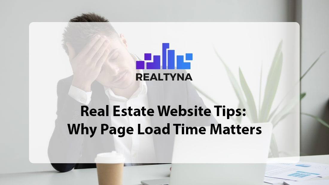 real estate website tips
