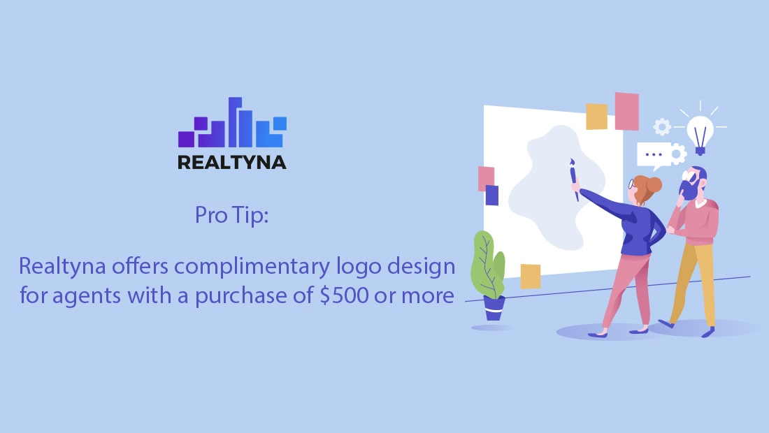 Complimentary Logo Design for Agents