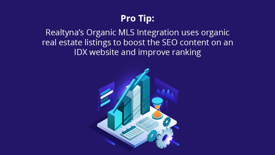 Organic MLS Integration