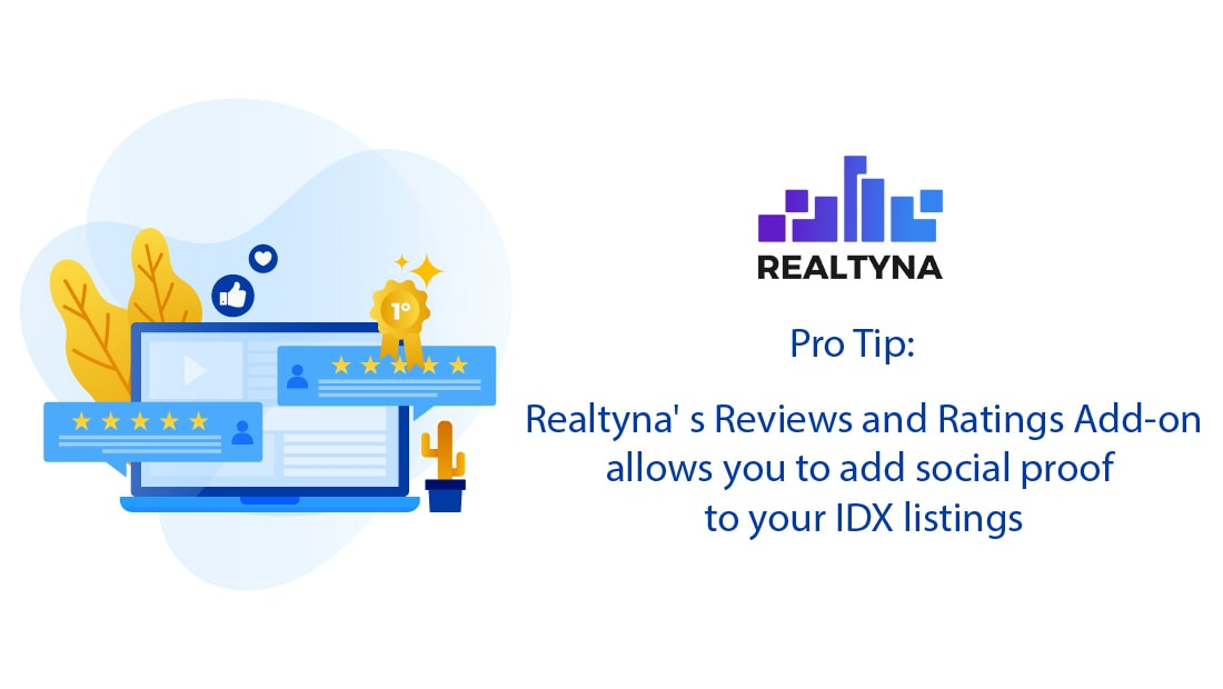Realtyna's Reviews and Ratings Add-on