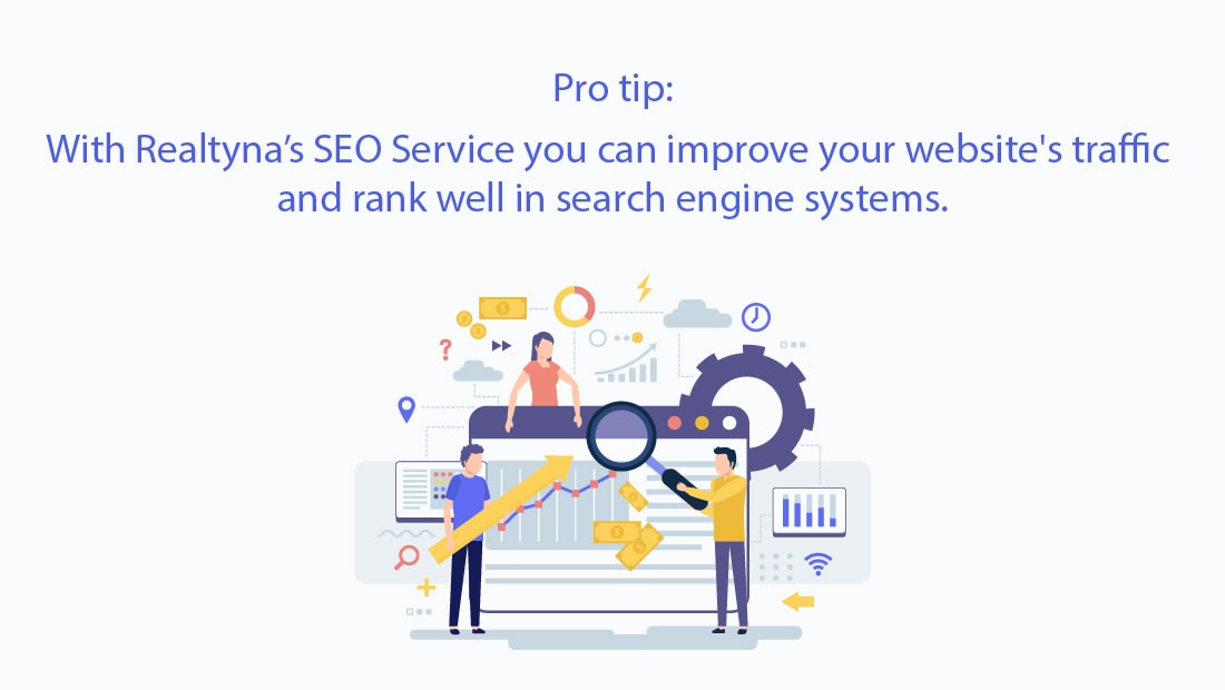 Realtyna's SEO Service