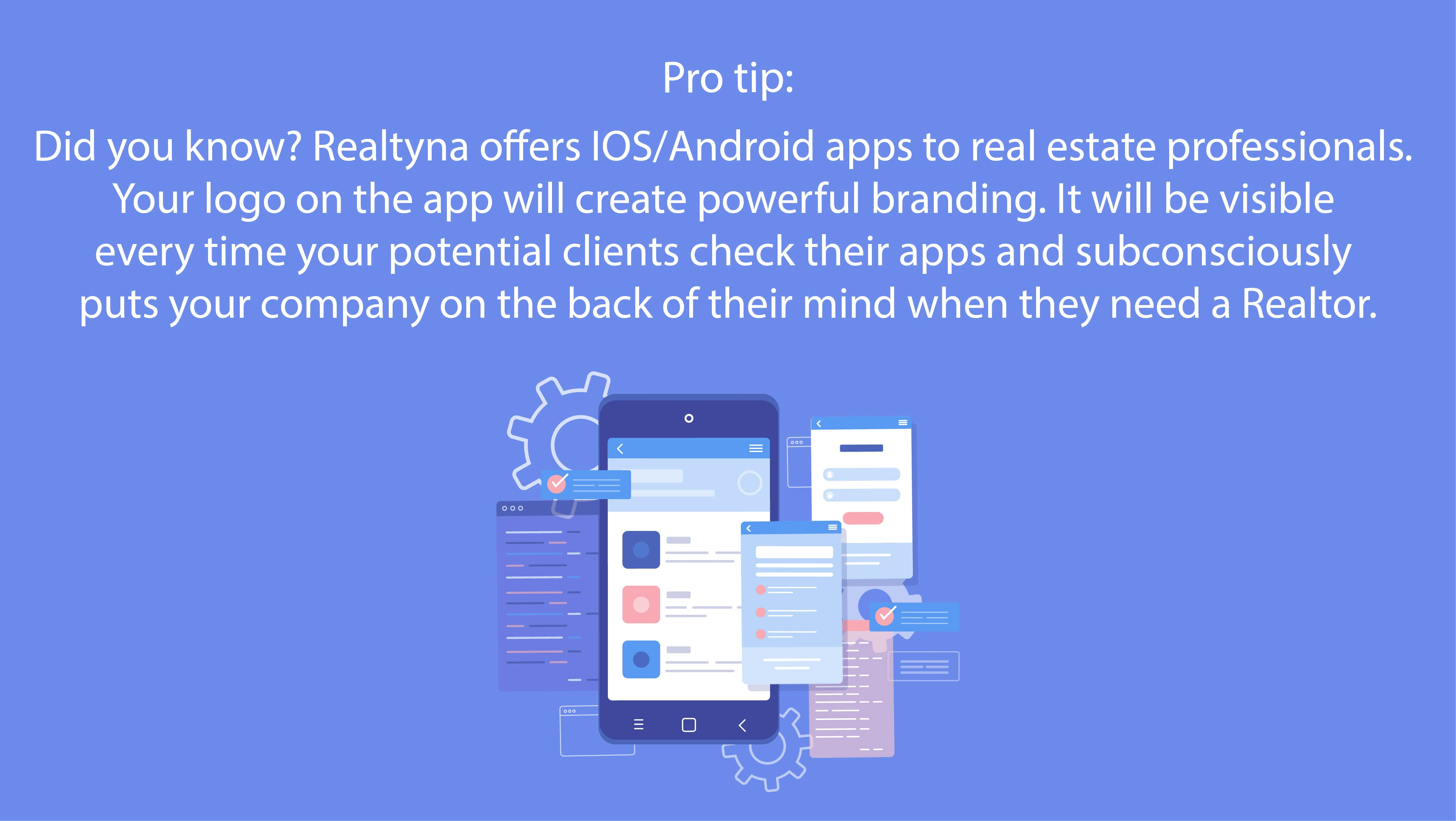 Realtyna's IOS/Android Apps