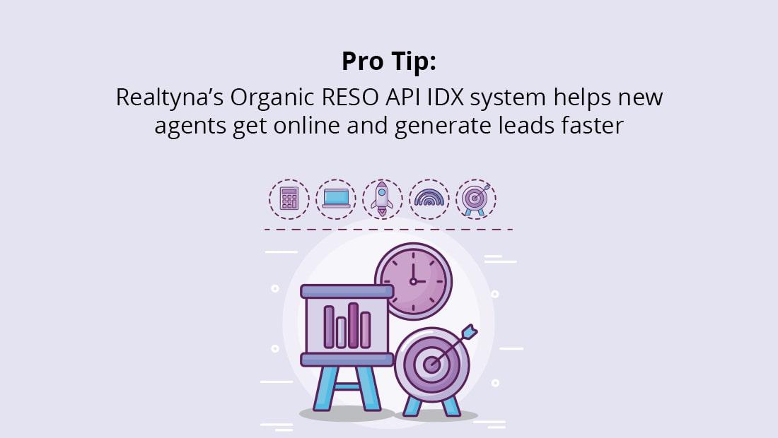 Realtyna's Organic RESO API IDX system