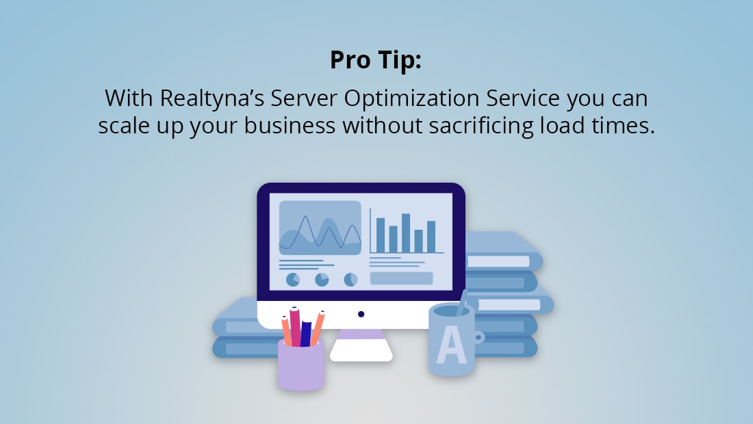 Realtyna's Server Optimization Service