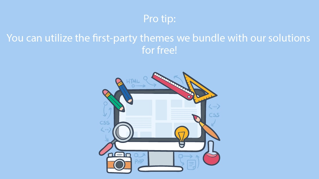First -party themes