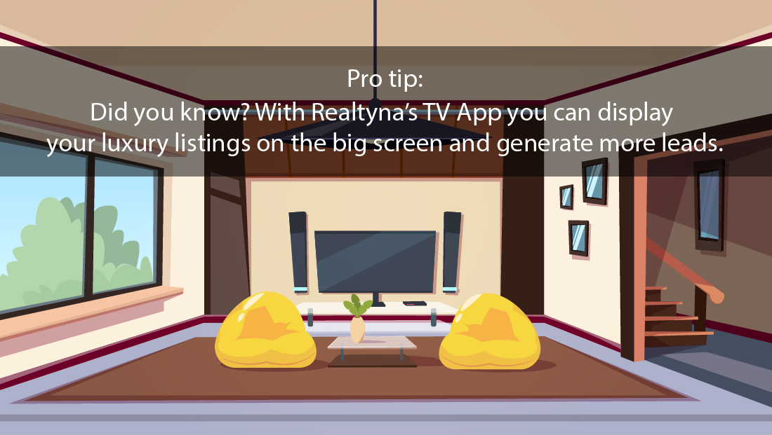 Realtyna's TV App
