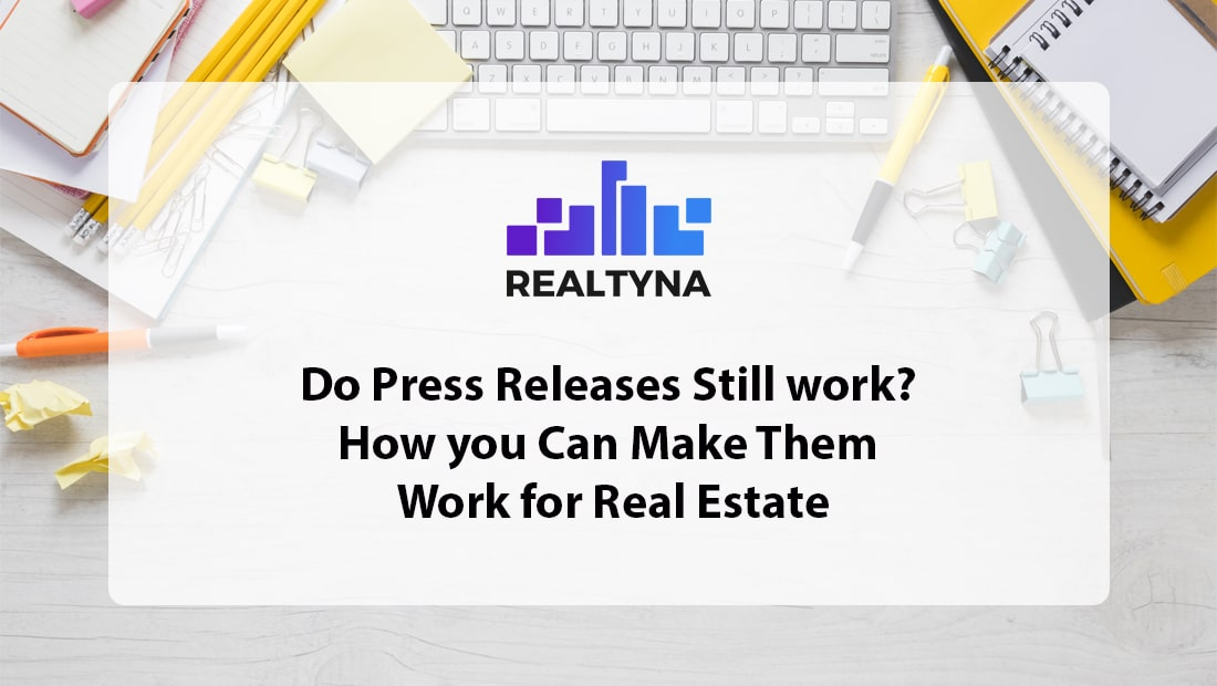press release for real estate