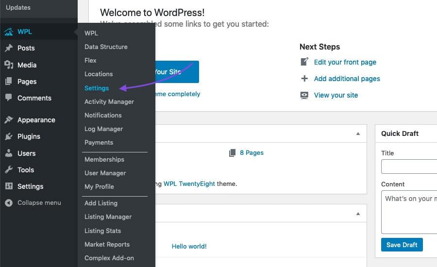 Create Custom Listings