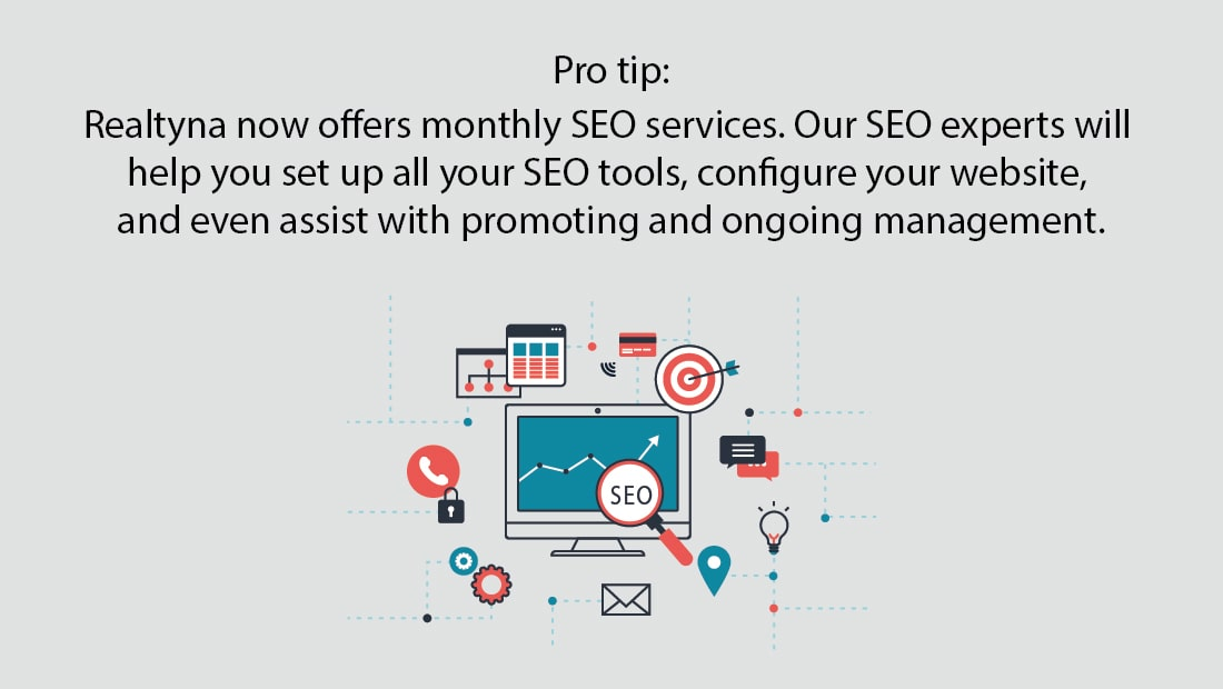 REaltyna's SEO Services