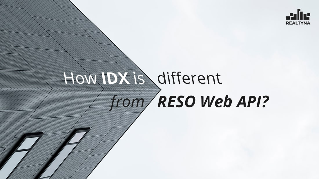 How IDX is Different from RESO Web API?