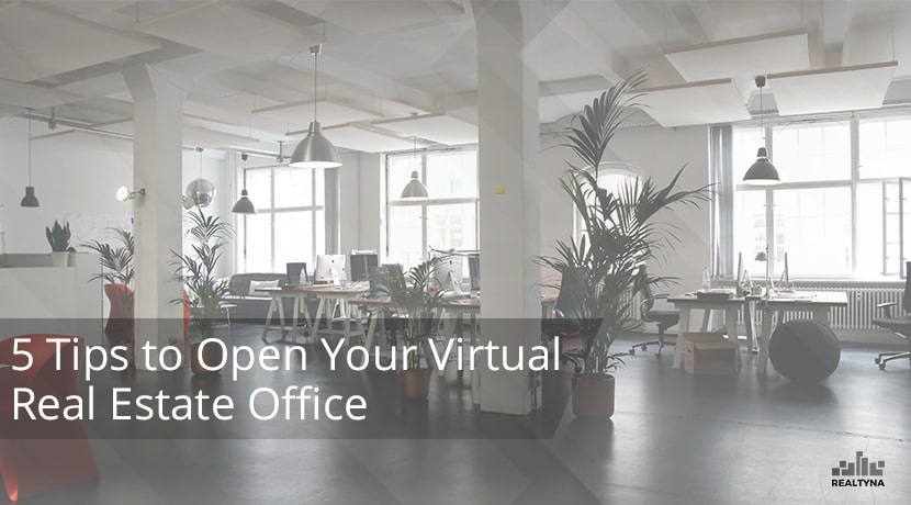 virtual real estate office