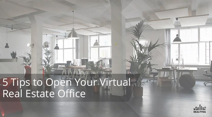 virtual real estate office