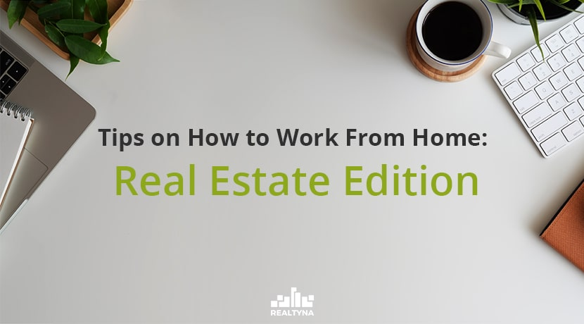 real estate work from home